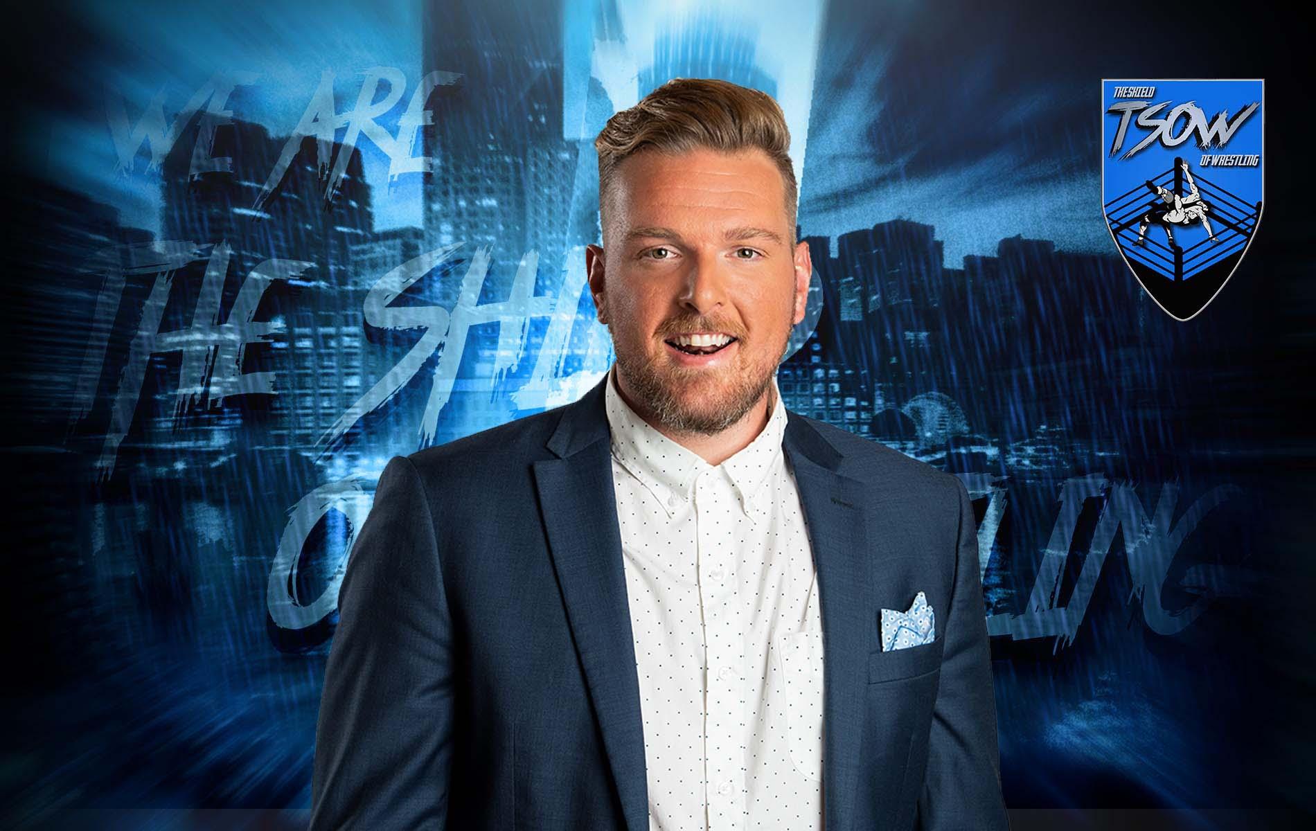 Pat McAfee nuovo commentatore di SmackDown