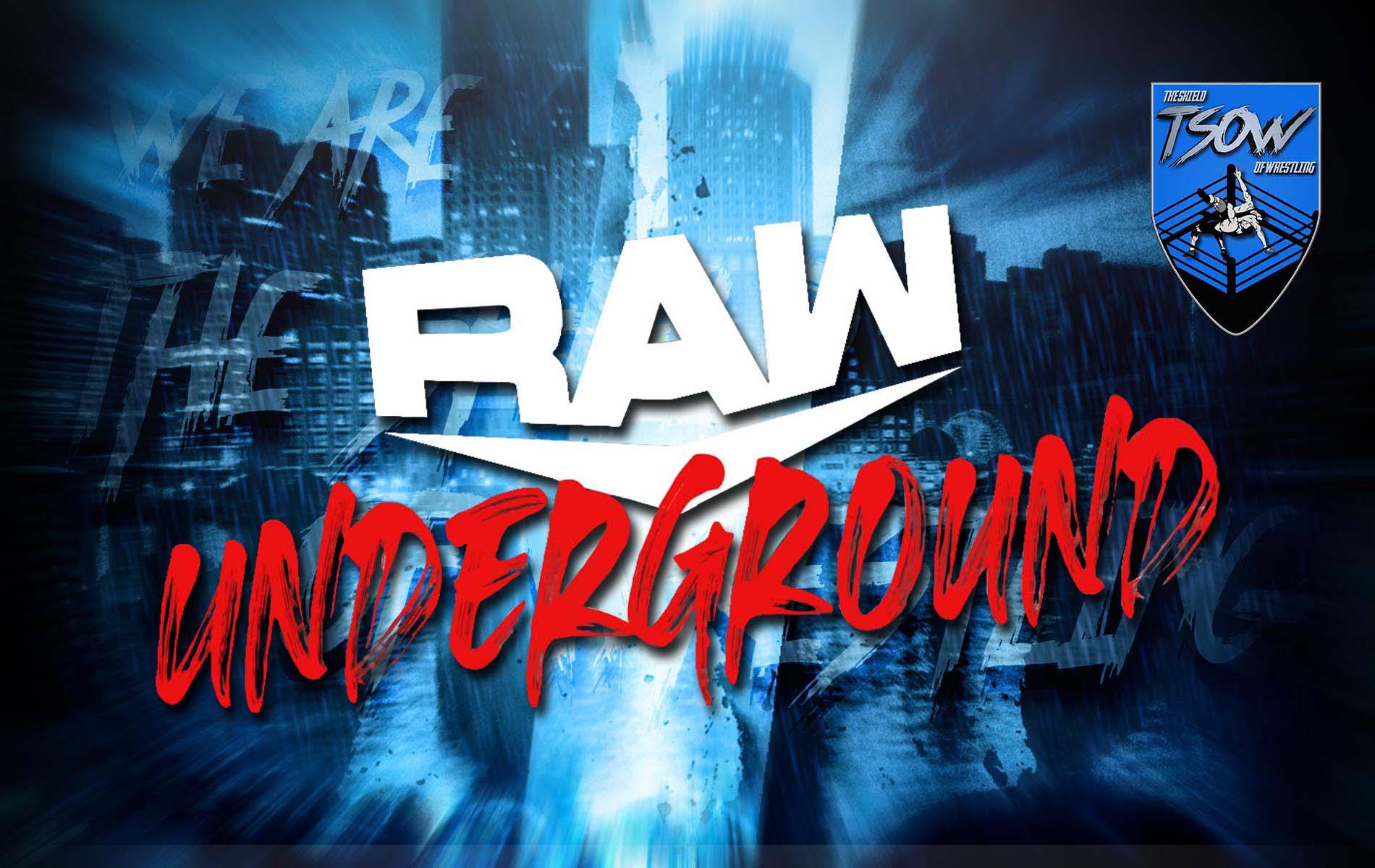 RAW Underground non si è disputato nell'ultima puntata