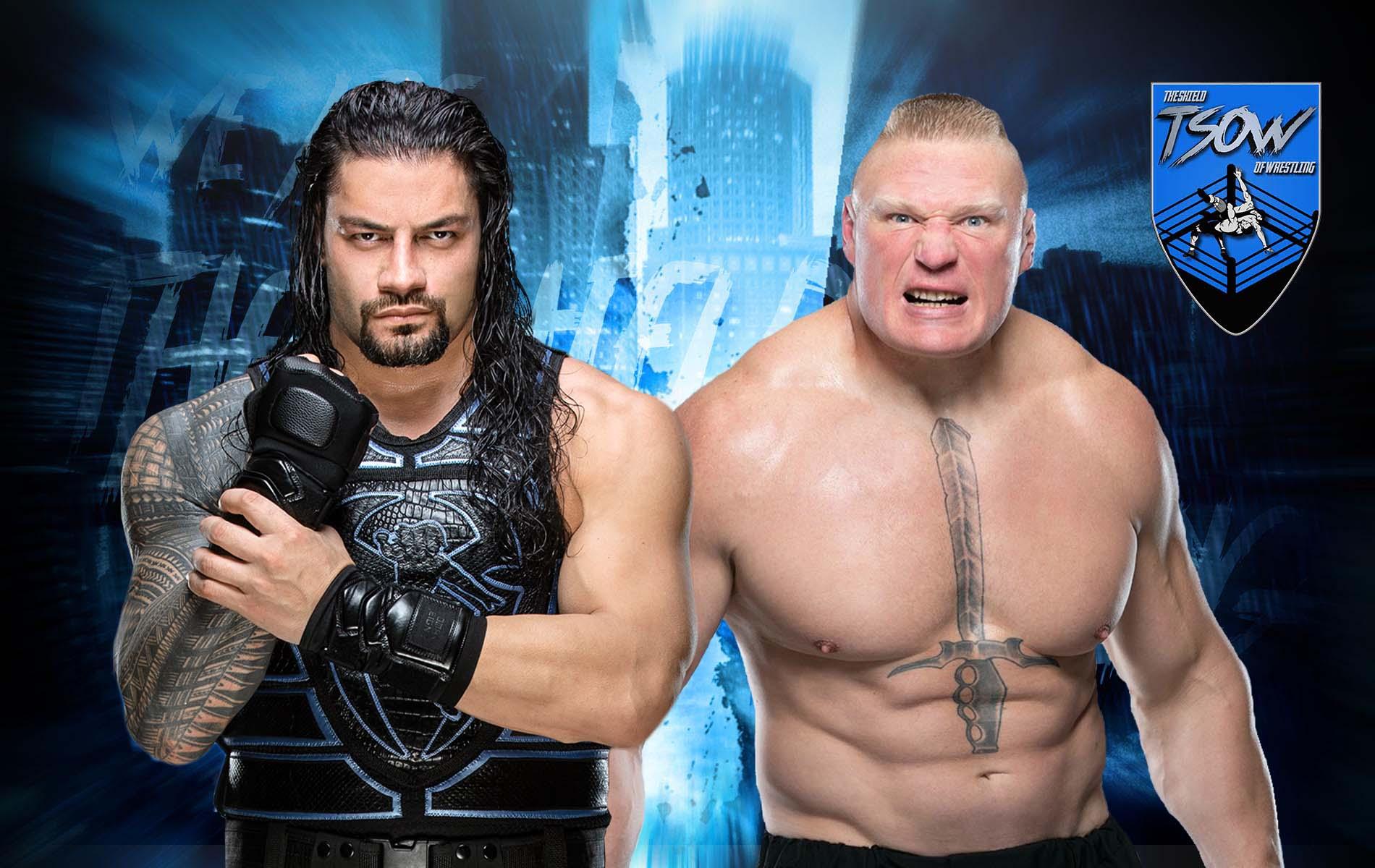 Brock Lesnar non vuole affrontare Roman Reigns