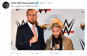 Enzo Amore tornerà a combattere con Big Cass?