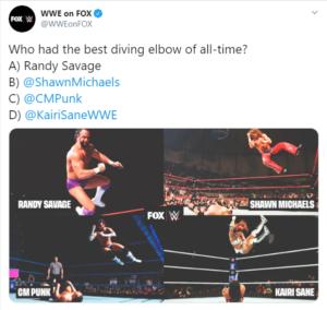 CM Punk critica un sondaggio della WWE