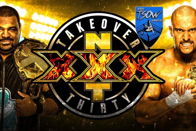 Risultati NXT TakeOver: 30 - WWE