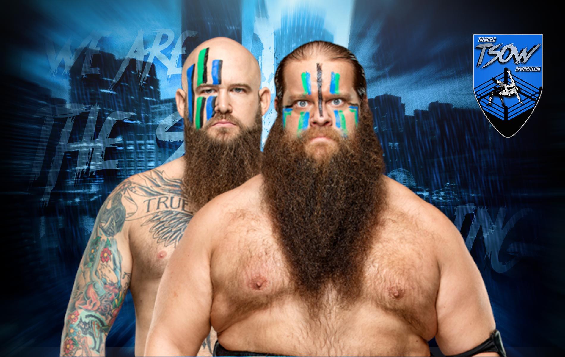 Viking Raiders lotteranno per i RAW Tag Team Championships