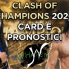 What's Now: Clash Of Champions 2020 card e pronostici