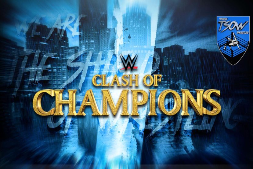 Clash of Champions: la card aggiornata