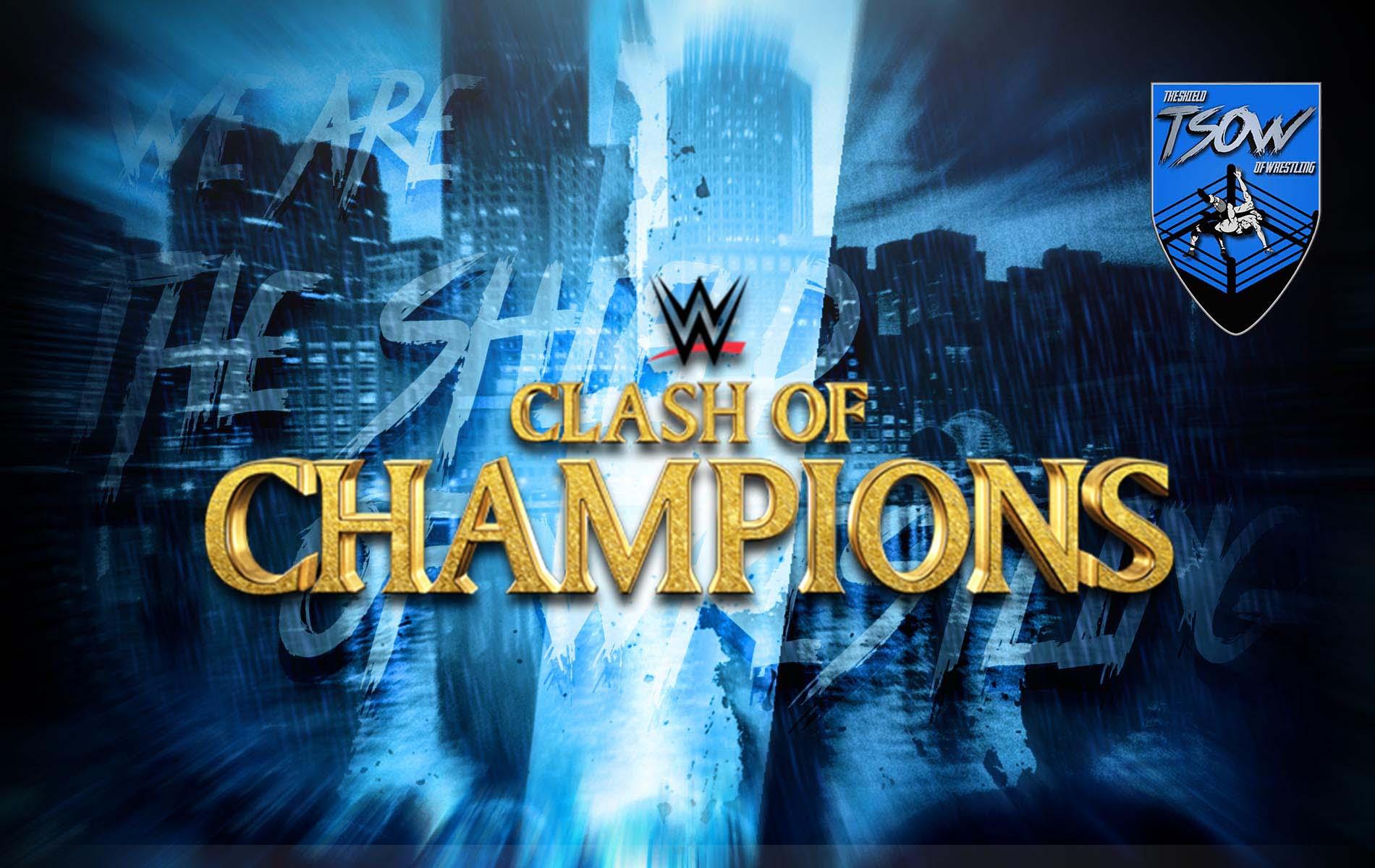 Clash of Champions 2020 Risultati