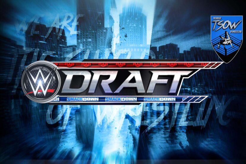 Draft WWE 2020: svelato importante spostamento per la seconda fase