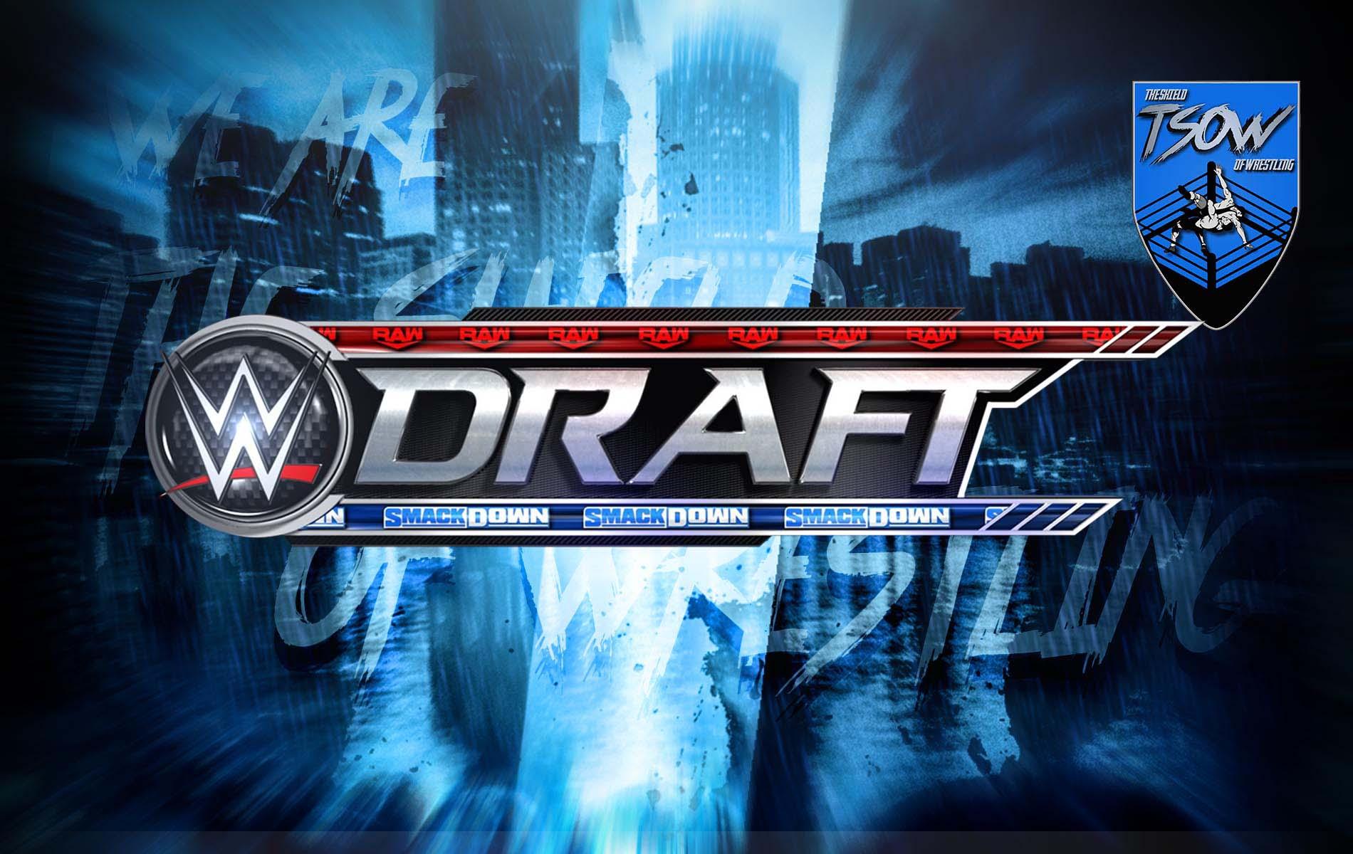 WWE Draft 2020: rivelato il quinto round con alcune Superstar non draftate