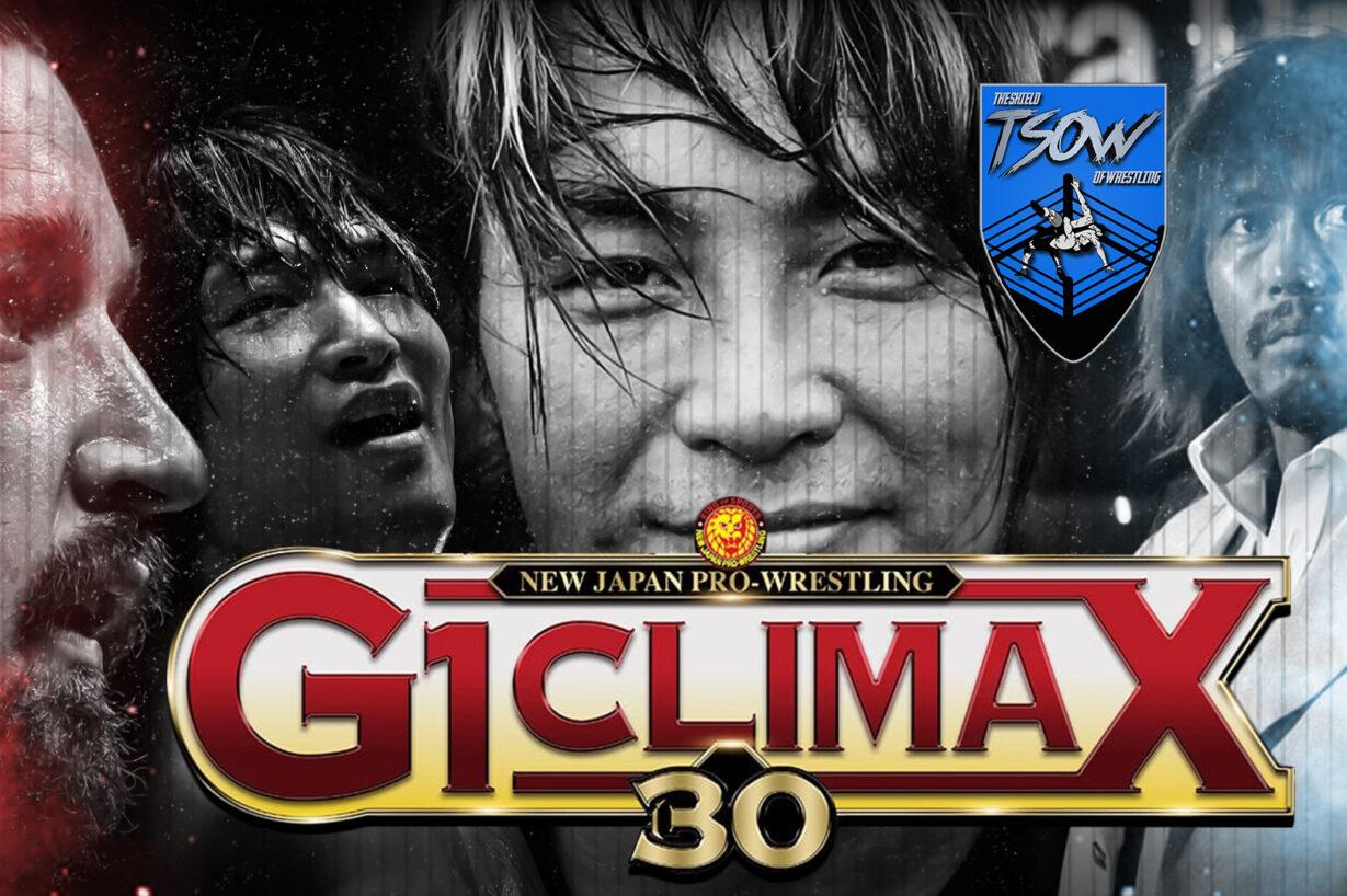 Tetsuya Naito vs SANADA: come è finito il match del G1 Climax?