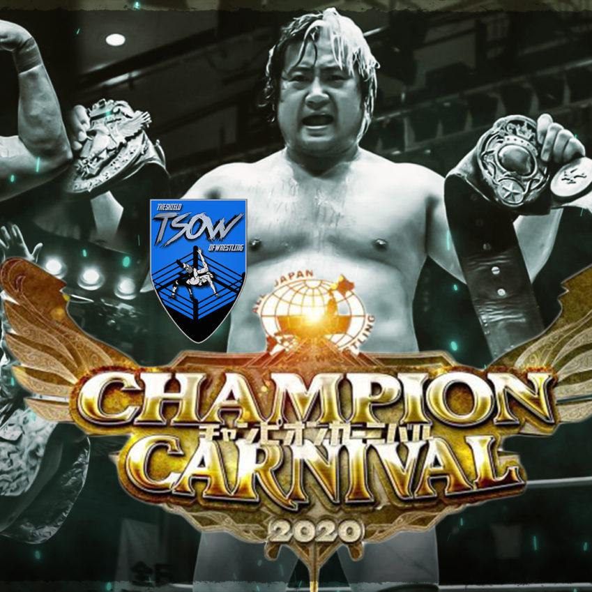 Risultati AJPW Champion Carnival 2020 - Day 4