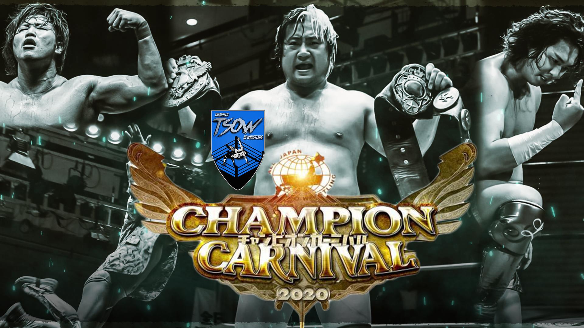 Champion Carnival 2020: chi ha vinto il torneo?
