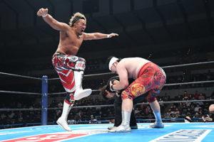 Tanahashi ricorda quasi Daniel LaRusso