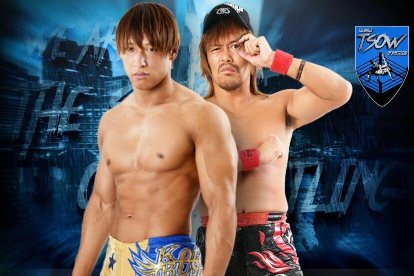 Kota ibushi vs Tetsuya Naito: ufficializzato il match di Wrestle Kingdom 15