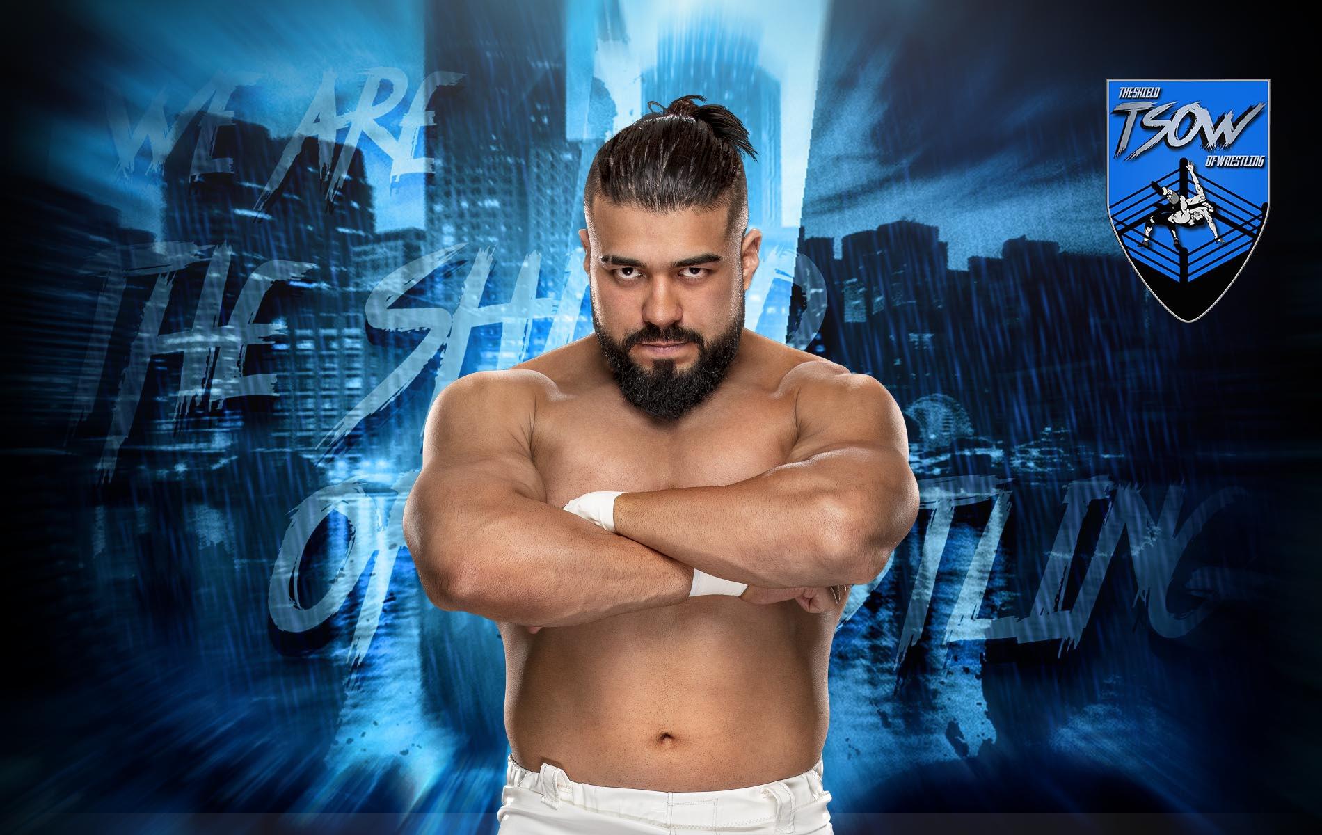 Andrade tornerà a lottare il 12 Giugno