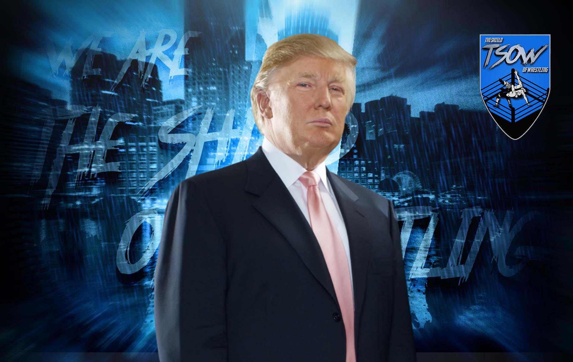 Donald Trump tornerà in WWE dopo le elezioni?