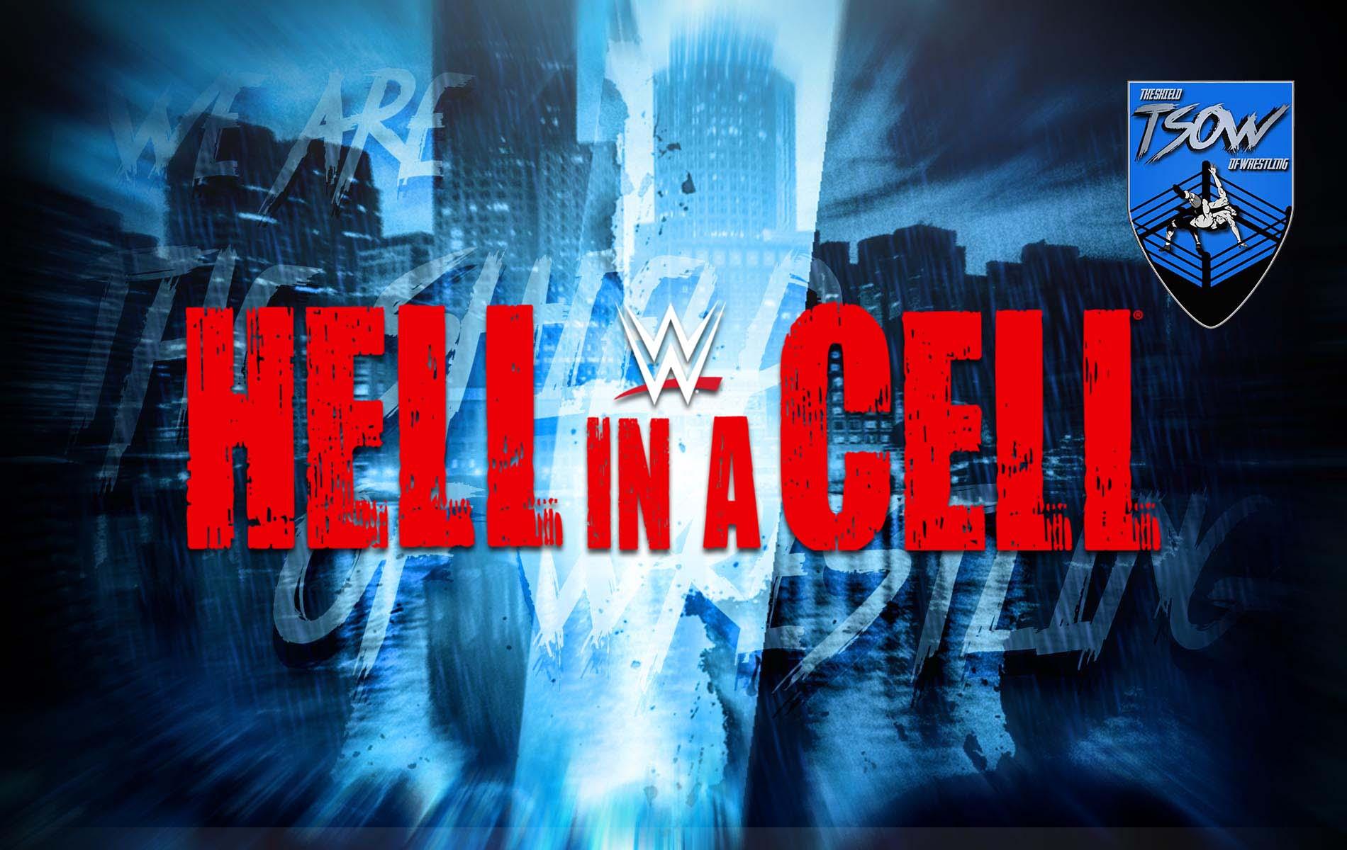 Hell In A Cell 2020: la card aggiornata dell'evento
