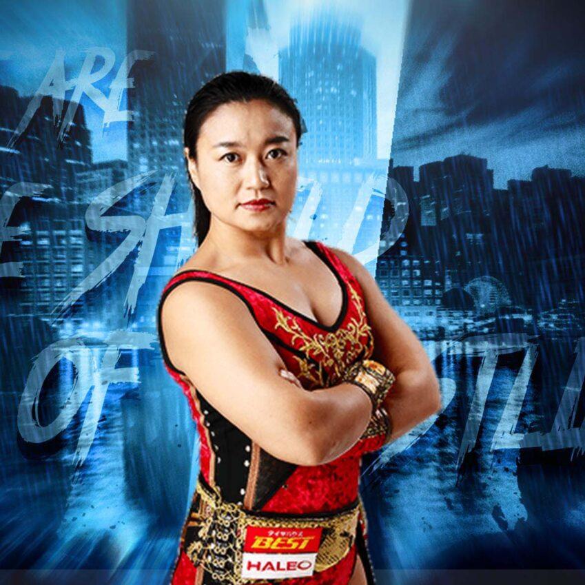 Meiko Satomura in WWE: nuovo acquisto per NXT UK