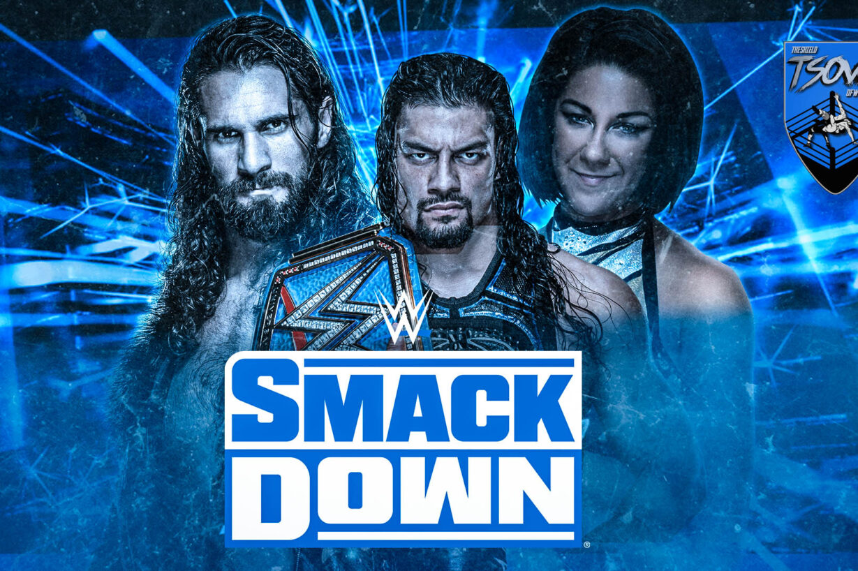 Report SmackDown 08-01-2021 - WWE