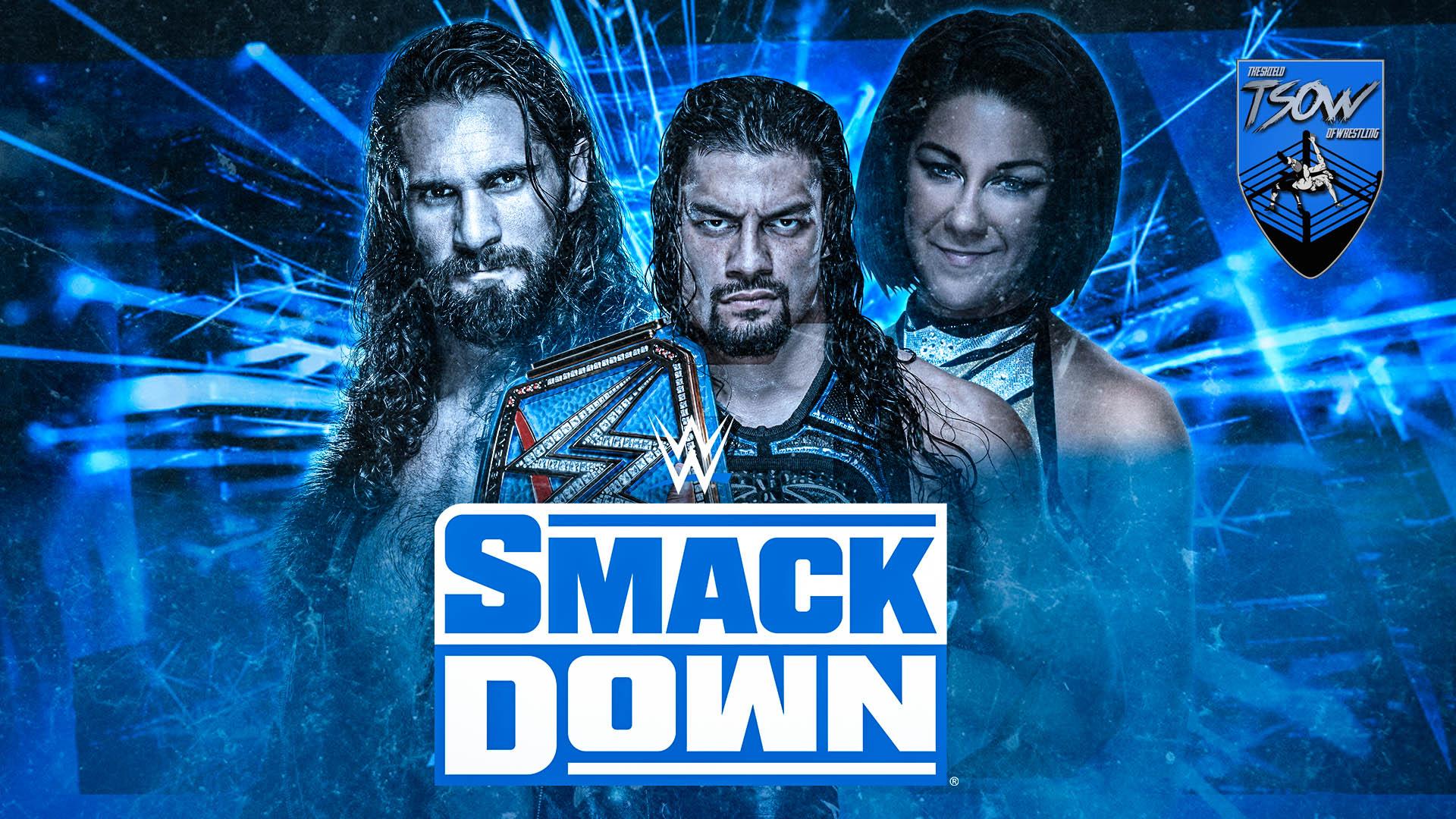 SmackDown 30-10-2020 - Risultati Live