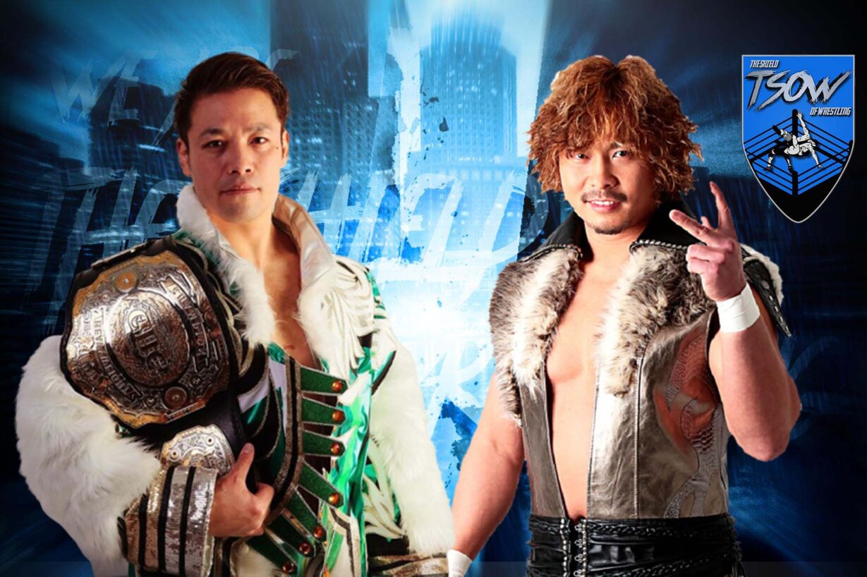 Go Shiozaki vs Katsuhiko Nakajima: quando si svolgerà lo scontro in NOAH?