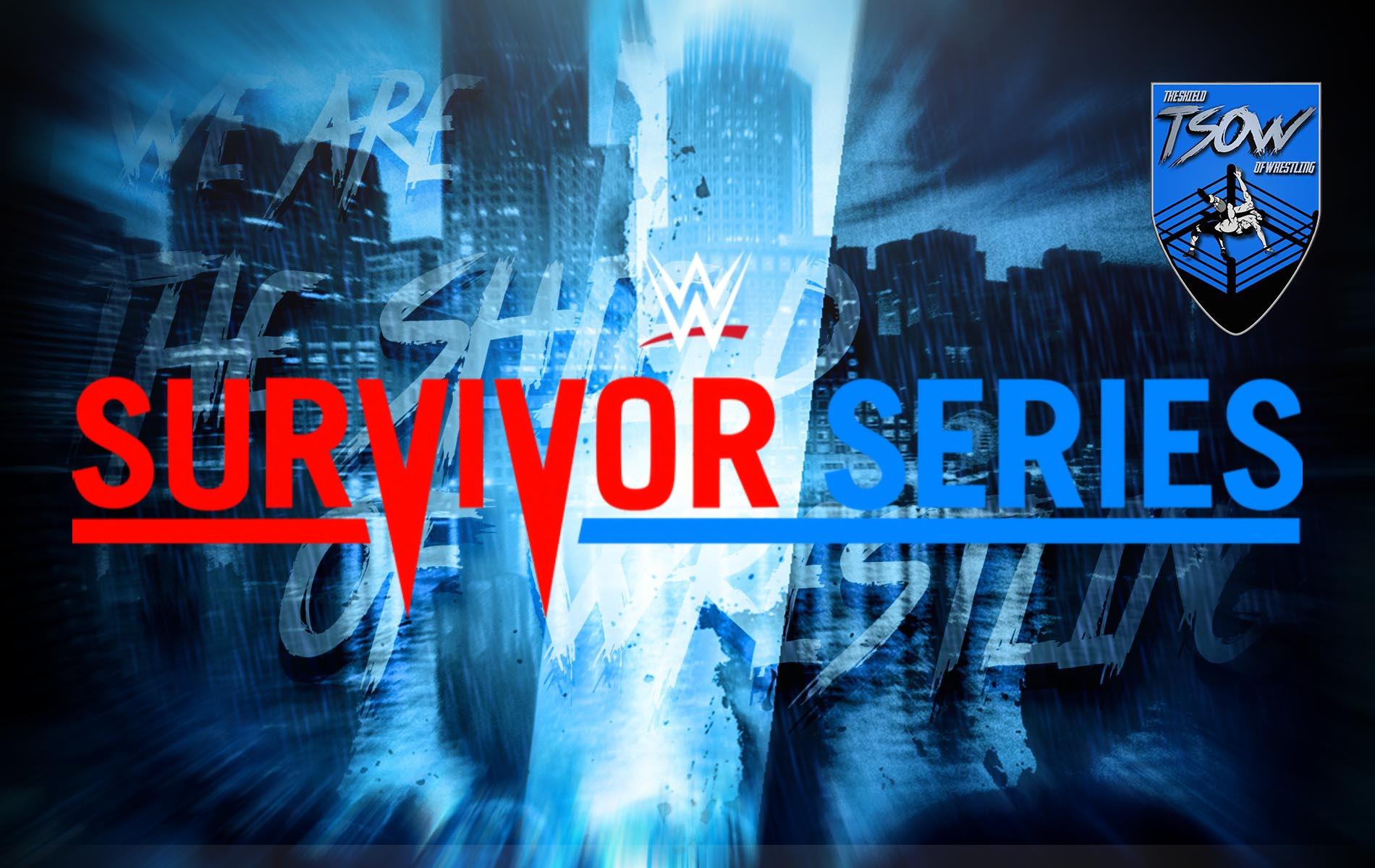 Survivor Series 2020: annunciata una Battle Royal per il kickoff