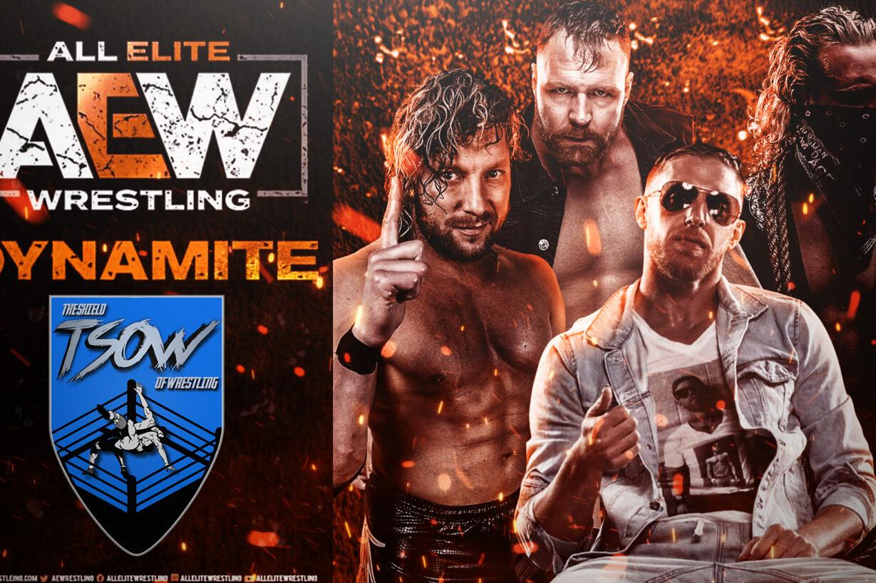 Report Dynamite 18-11-2020 - AEW