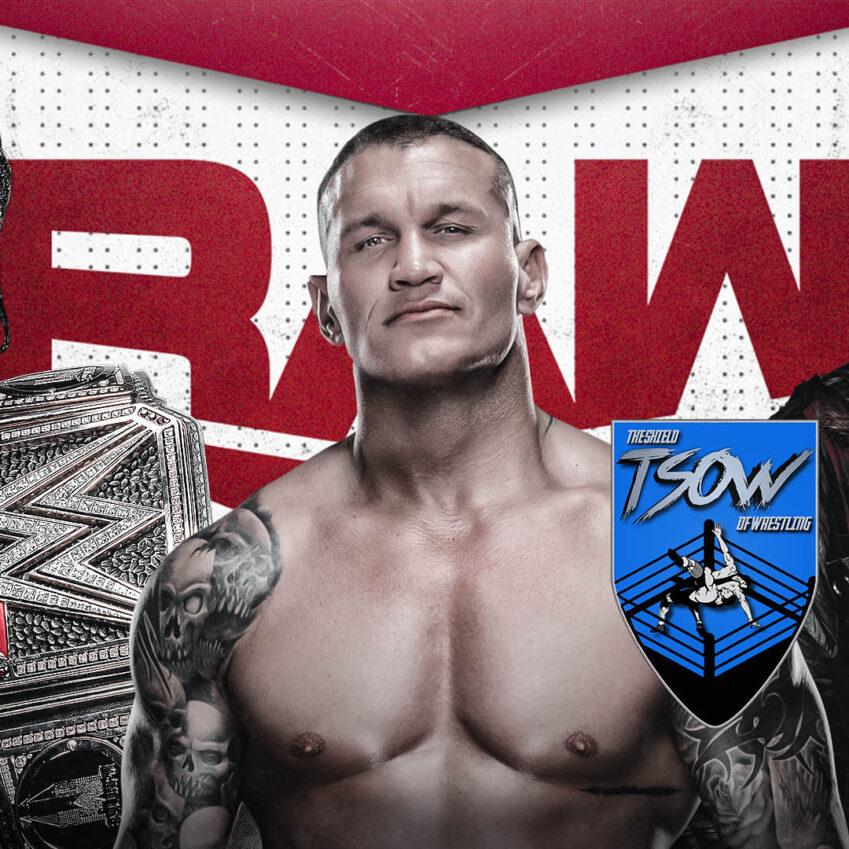 Report RAW 01-03-2021 - WWE