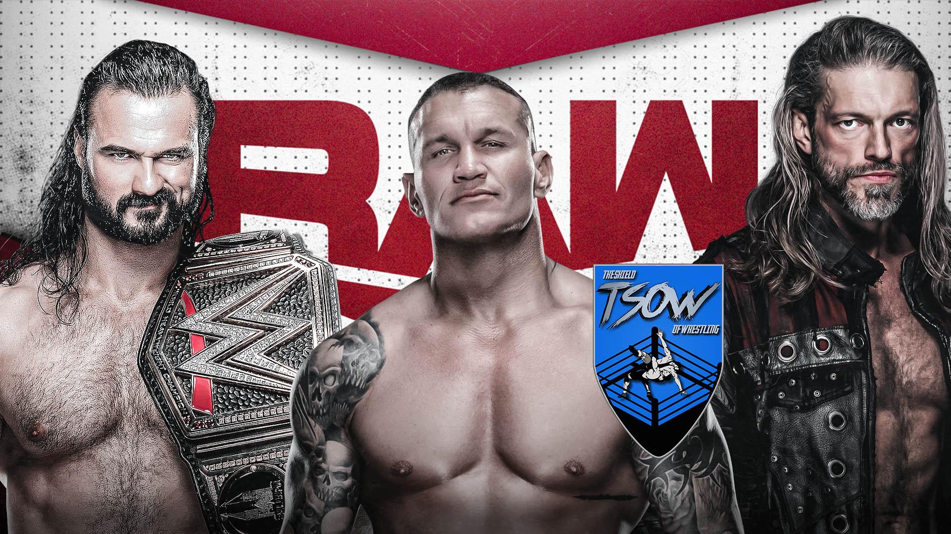 RAW 11-01-2021 - Risultati Live