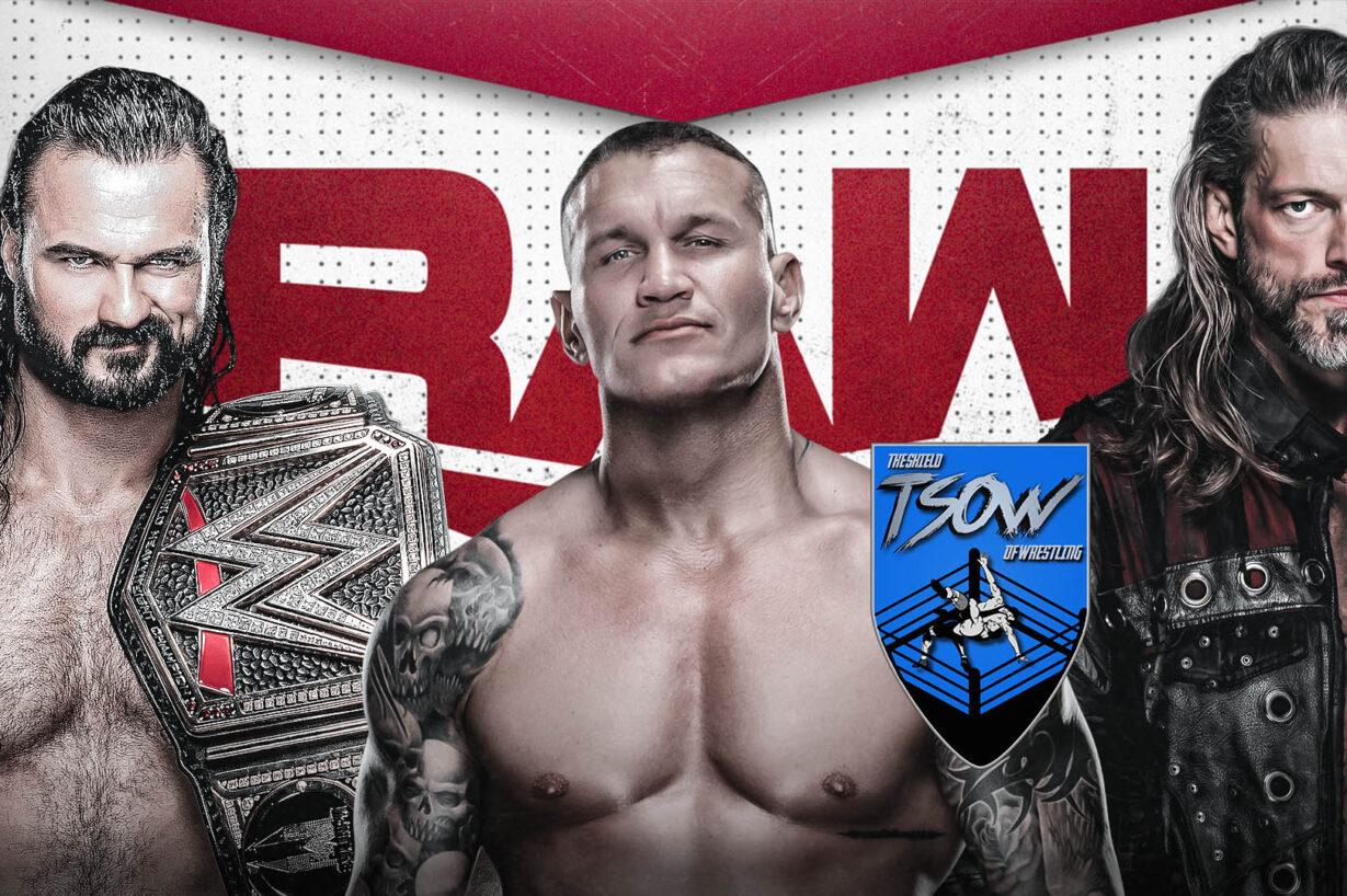 Report RAW 11-01-2021 - WWE