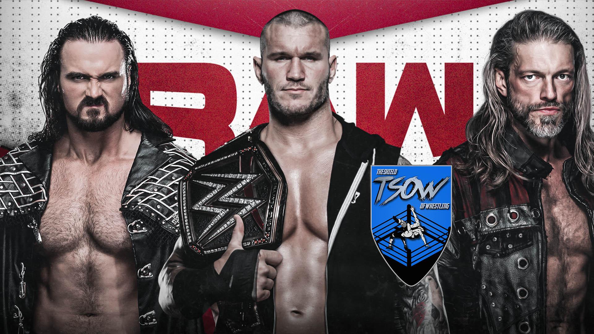 RAW 16-11-2020 - Risultati Live