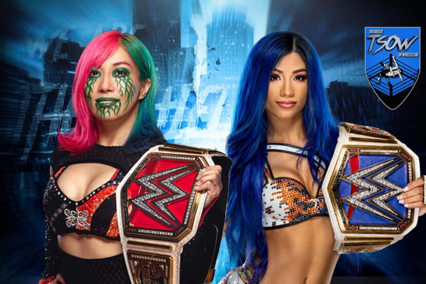 Survivor Series: come è finito il match tra Asuka e Sasha Banks?