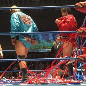 I Violent Giants sul ring