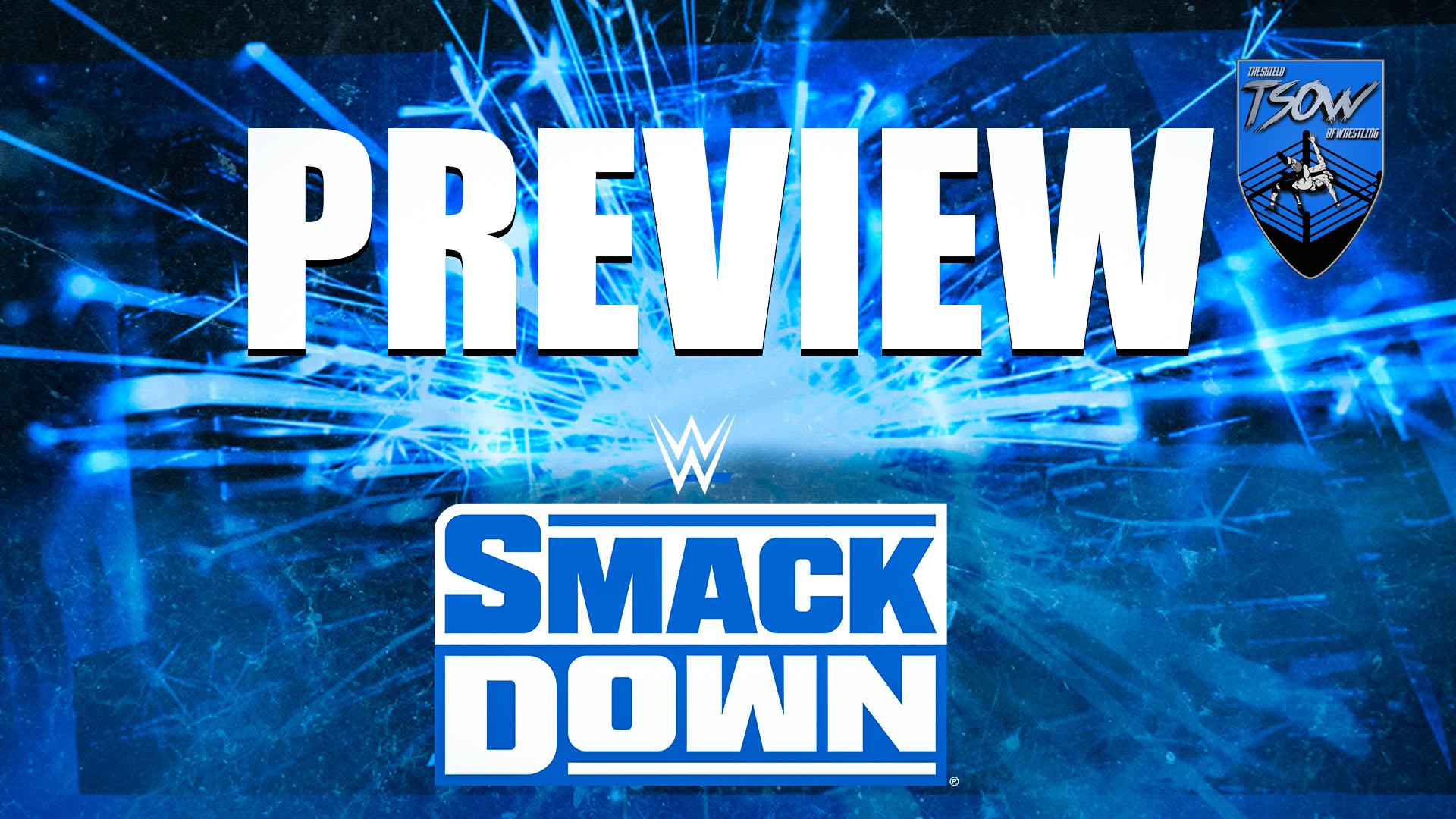 SmackDown Anteprima 22 01 2021