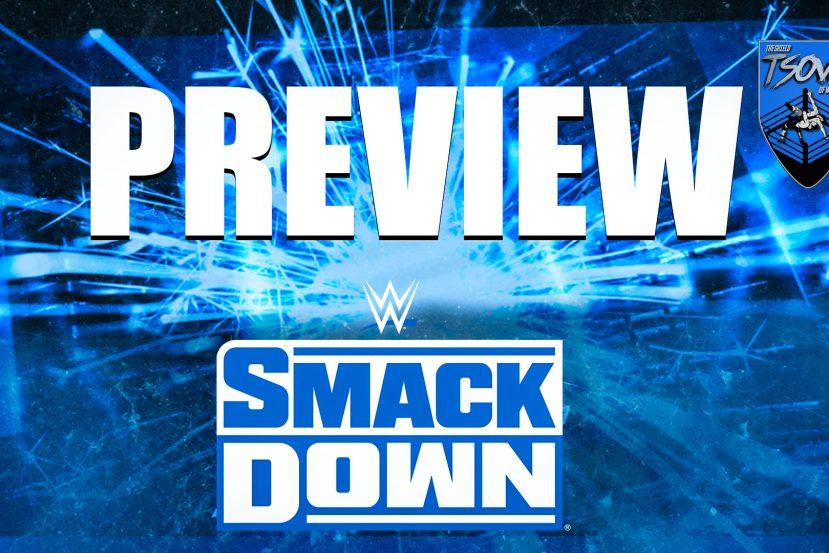 SmackDown Anteprima 18 06 2021