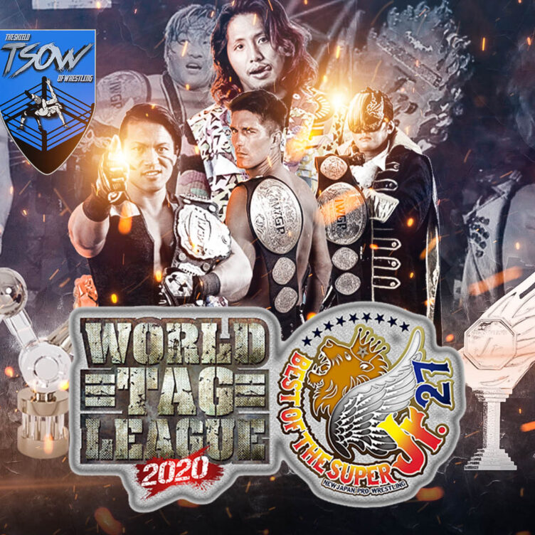 Risultati NJPW World Tag League 2020 – Day 5