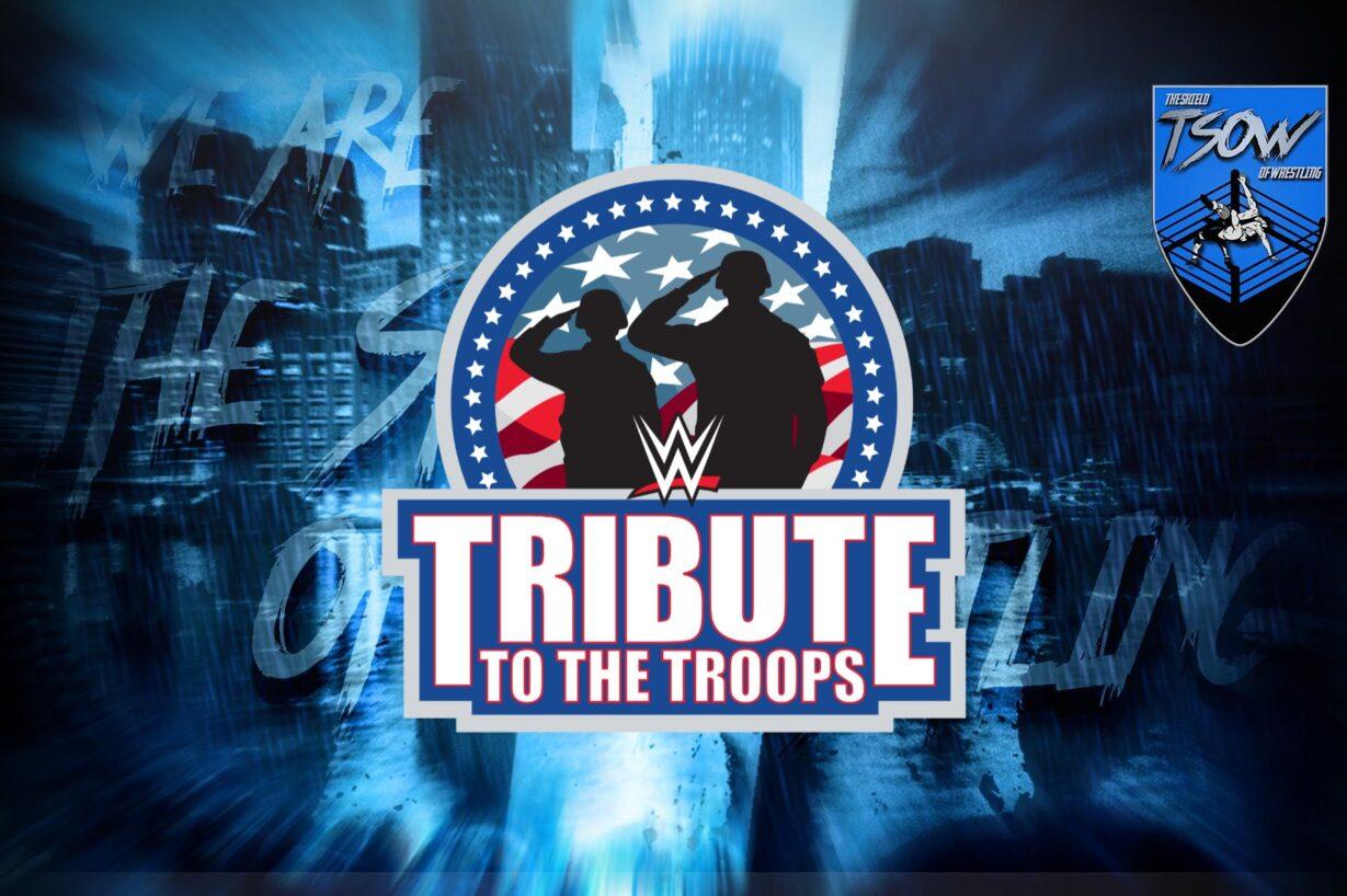 Tribute to the Troops: la WWE annuncia tre grandi match per l'evento