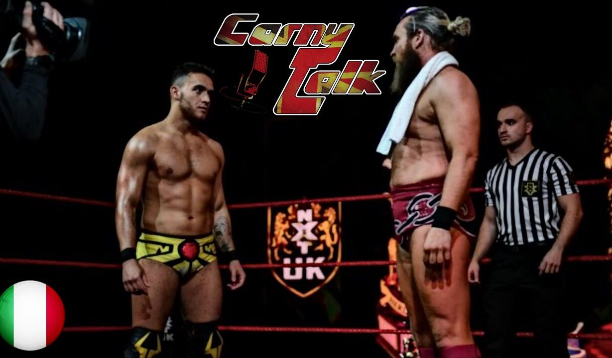 HERITAGE CUP FINAL - NXT UK in italiano - Carny Talk