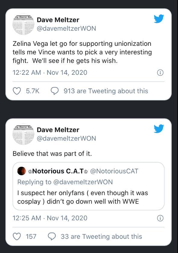 Zelina Vega: i motivi per cui è stata rilasciata dalla WWE