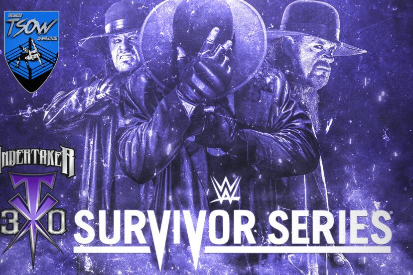 Anteprima Survivor Series - WWE