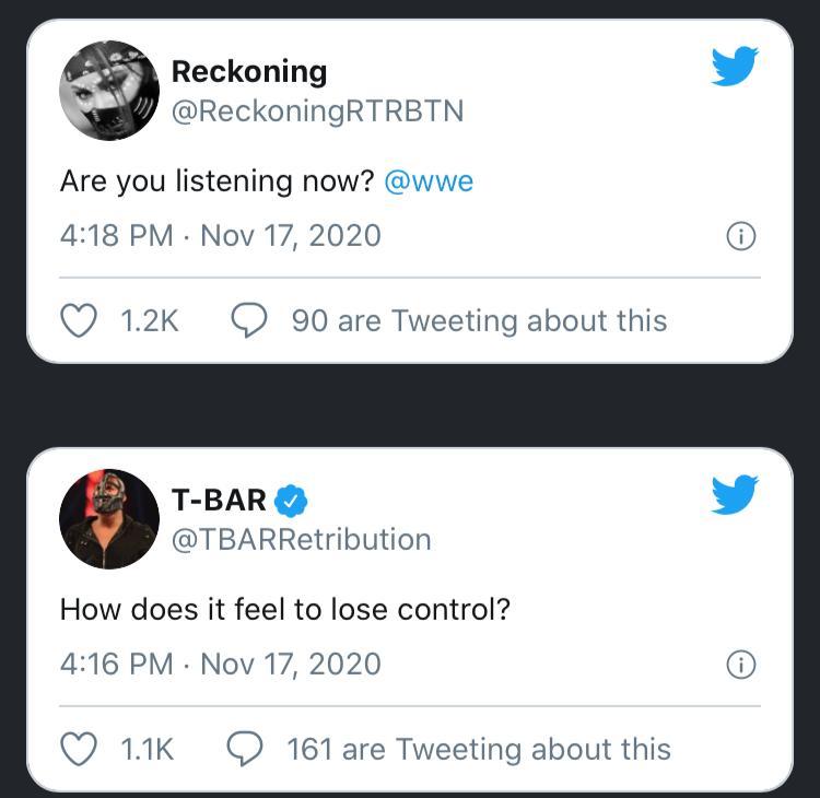 RETRIBUTION ha preso il controllo dell'account Twitter della WWE