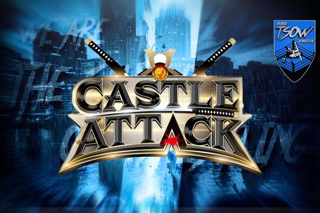 NJPW: annunciate le card di Castle Attack