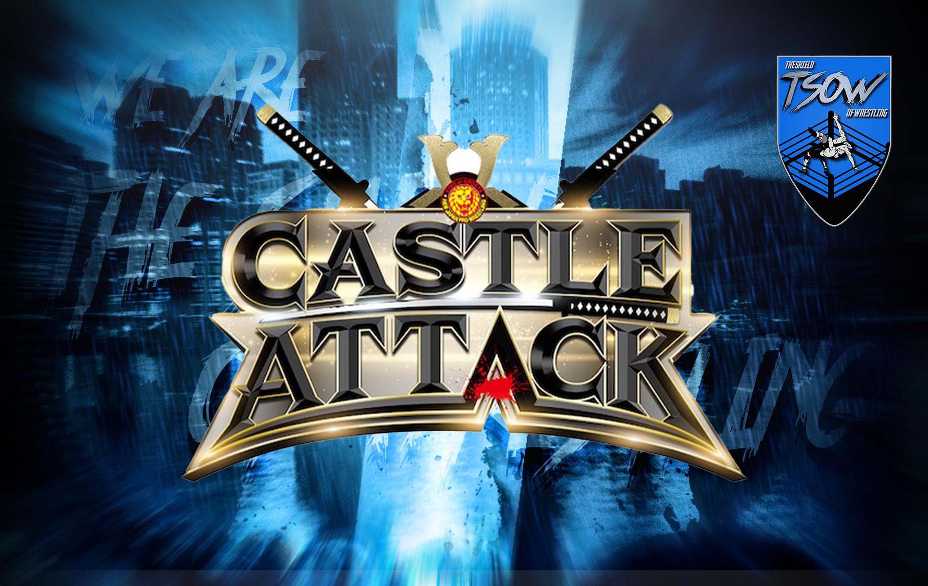 NJPW: annunciate le date di Castle Attack 2021