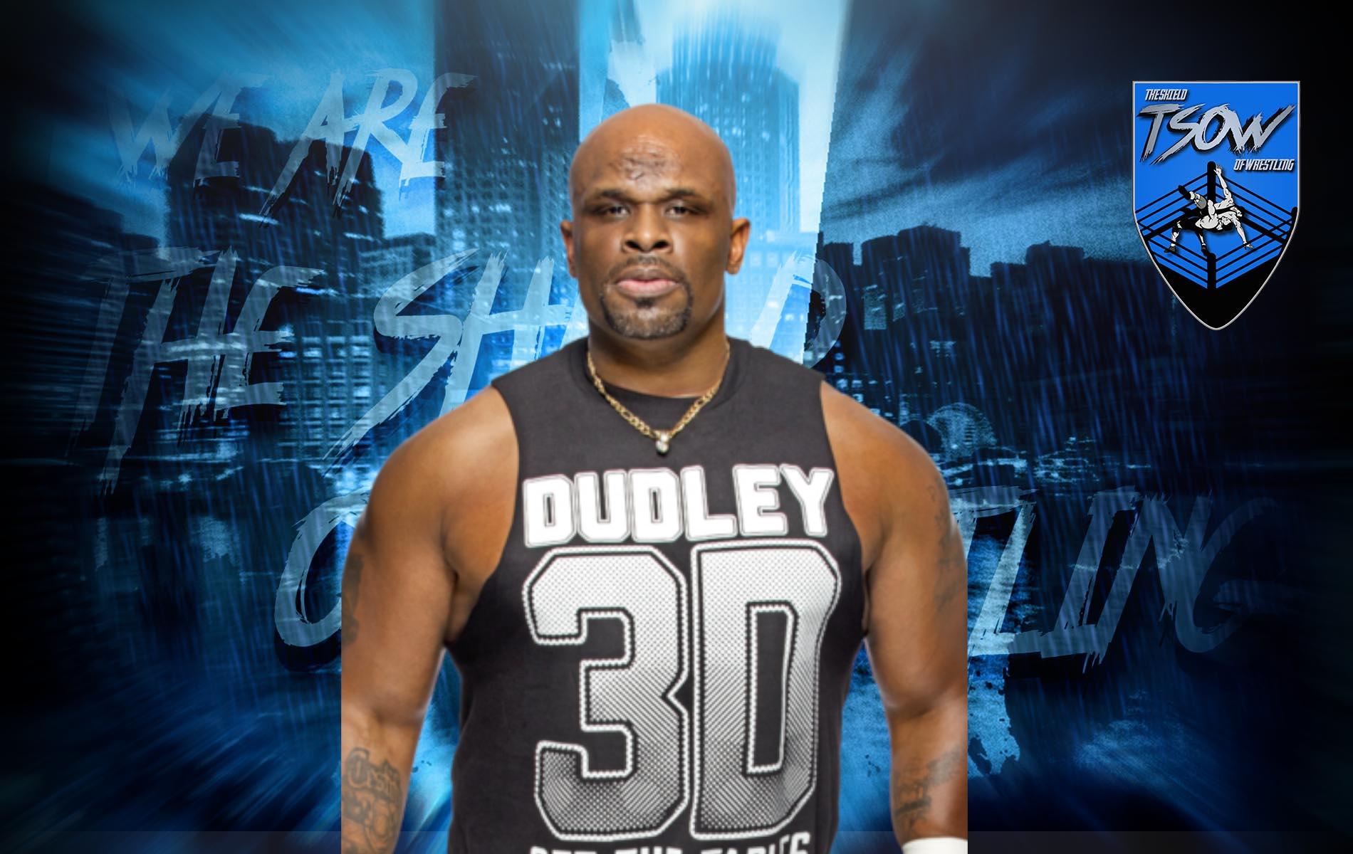 D-Von Dudley ha svelato di aver avuto un infarto di recente