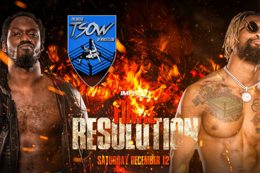 Report Final Resolution - IMPACT! Wrestling