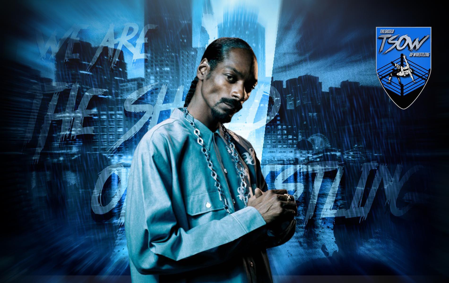 Snoop Dogg: la WWE non è stata contenta di vederlo in AEW