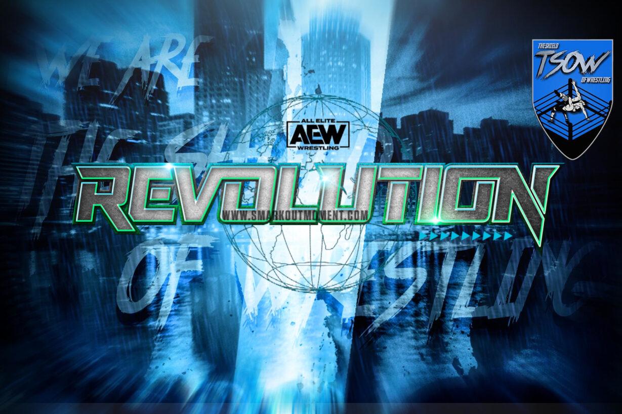 AEW Revolution: cambiata la data dell'evento