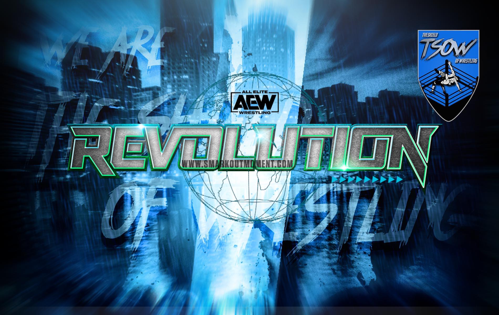 AEW Revolution 2020 sarà presto su SKY Sport