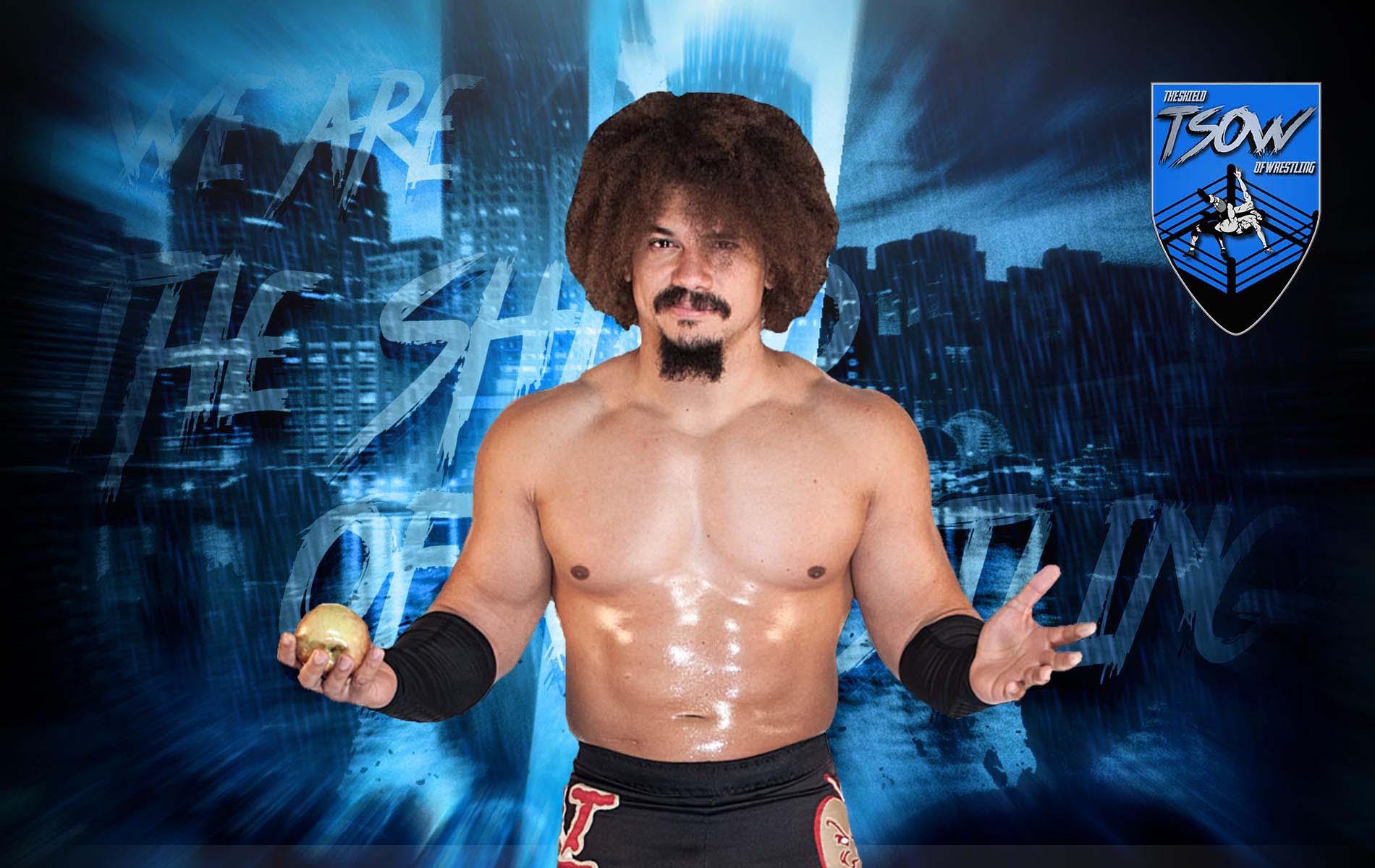Carlito: il suo status con la WWE dopo RAW