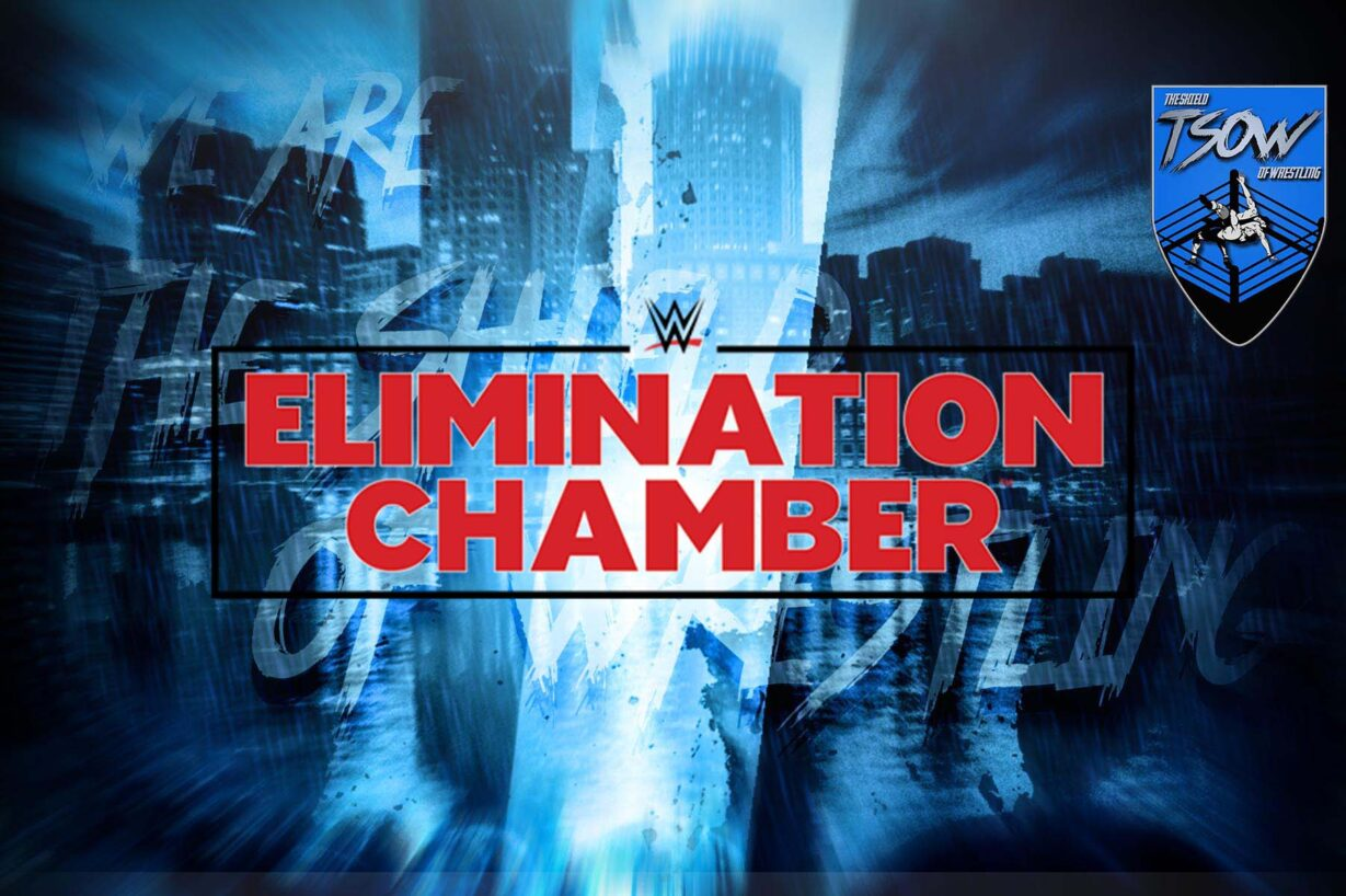WWE Elimination Chamber 2021 - Card del PPV