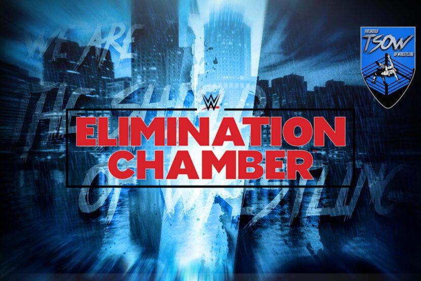 WWE Elimination Chamber 2021: la possibile card del PPV